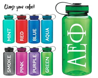 Alpha Epsilon Phi Classic Letters Water Bottle