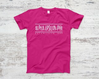 Alpha Epsilon Phi Established Tee