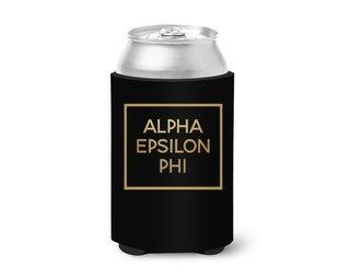 Alpha Epsilon Phi Gold Foil Hugger