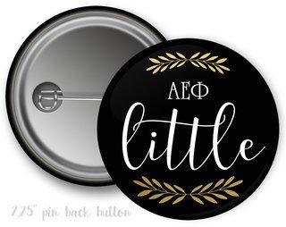 Alpha Epsilon Phi Little Button