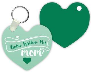 Alpha Epsilon Phi Mom Keychain