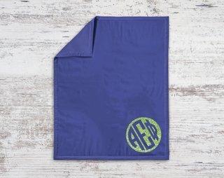 Alpha Epsilon Phi Monogram Blanket