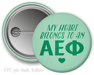 Alpha Epsilon Phi My Heart Belongs to a Button