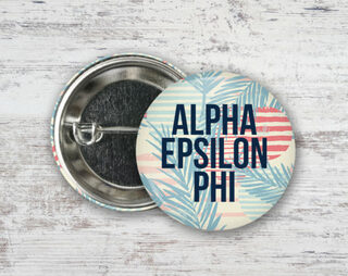 Alpha Epsilon Phi Paradise Found Button