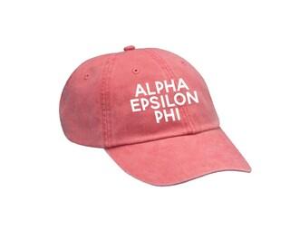 Alpha Epsilon Phi Simple Hat