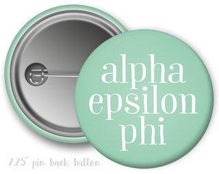 Alpha Epsilon Phi Simple Text Button