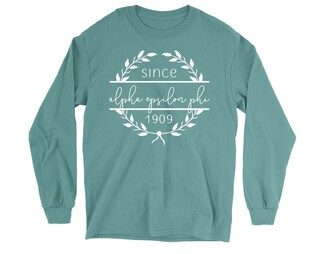Alpha Epsilon Phi Since 1909 Long Sleeve