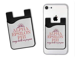 Alpha Epsilon Phi Sun Card Caddy