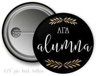 Alpha Gamma Delta Alumna Button