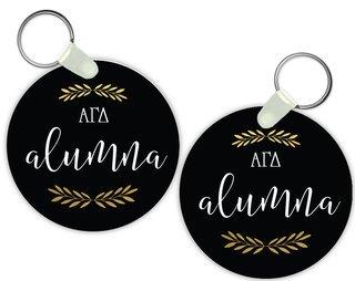 Alpha Gamma Delta Alumna Keychain