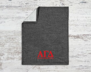 Alpha Gamma Delta Classic Blanket