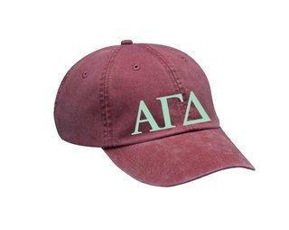 Alpha Gamma Delta Letters Hat