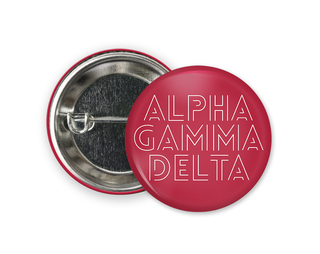 Alpha Gamma Delta Modera Button