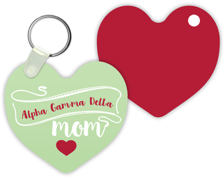Alpha Gamma Delta Mom Keychain