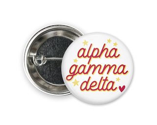 Alpha Gamma Delta Star Button