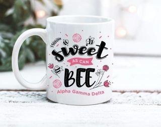 Alpha Gamma Delta Sweet Bee Mug