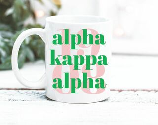 Alpha Kappa Alpha 1908 Coffee Mug