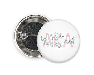 Alpha Kappa Alpha Motto Button