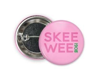 Alpha Kappa Alpha SKEE WEE 1908 Button