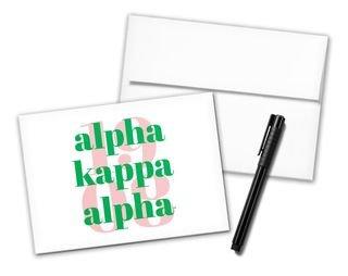 Alpha Kappa Alpha 1908 Notecards(6)