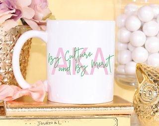 Alpha Kappa Alpha Motto Coffee Mug