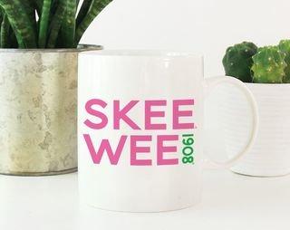 Alpha Kappa Alpha SKEE WEE 1908 Coffee Mug