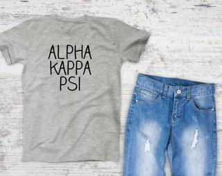Alpha Kappa Psi Campus Tee