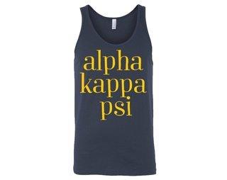 Alpha Kappa Psi Simple Tank