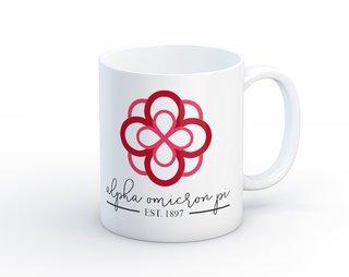 Alpha Omicron Pi Established Coffee Mug