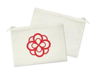 Alpha Omicron Pi Mascot Cosmetic Bag