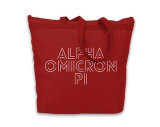 Alpha Omicron Pi Modera Tote