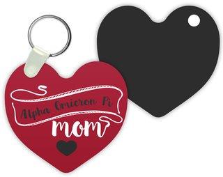Alpha Omicron Pi Mom Keychain
