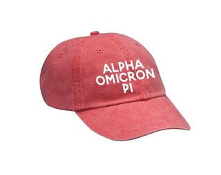 Alpha Omicron Pi Simple Hat