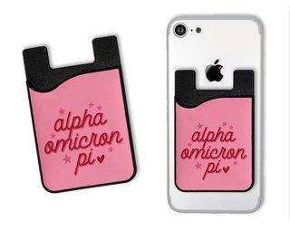 Alpha Omicron Pi Star Card Caddy