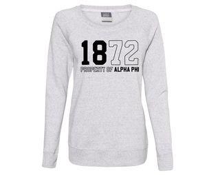 Alpha Phi Established Crewneck Sweatshirt