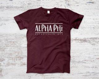 Alpha Phi Established Tee