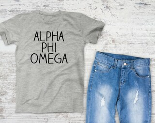 Alpha Phi Omega Campus Tee