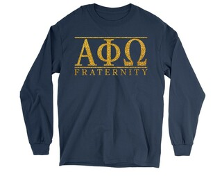 Alpha Phi Omega Classic Long Sleeve