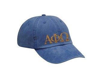 Alpha Phi Omega Letters Hat