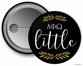 Alpha Phi Omega Little Button