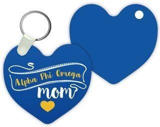 Alpha Phi Omega Mom Keychain