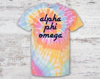 Alpha Phi Omega Tie Dye Tee