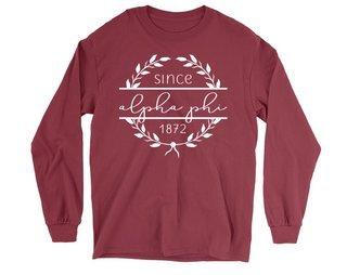 Alpha Phi Since 1872 Long Sleeve