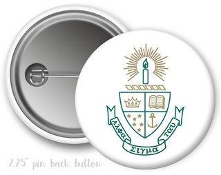 Alpha Sigma Tau Color Crest - Shield Button