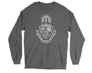 Alpha Sigma Tau Crest Long Sleeve