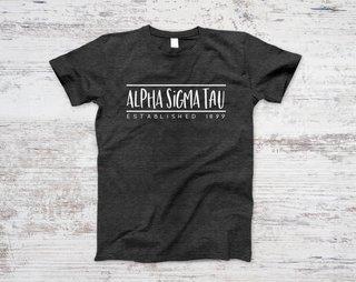 Alpha Sigma Tau Established Tee