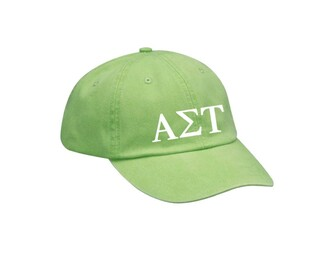 Alpha Sigma Tau Letters Hat