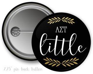 Alpha Sigma Tau Little Button