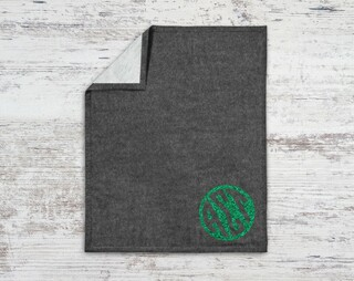 Alpha Sigma Tau Monogram Blanket