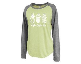 Alpha Sigma Tau Pineapple Raglan